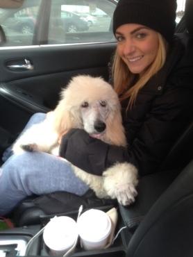 Roxanne with Alyssa in Ct.