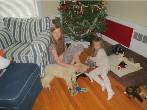 Sam, Cathrine and Leroy Jan. 2015.