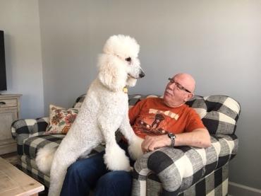 Quinn and grandpa