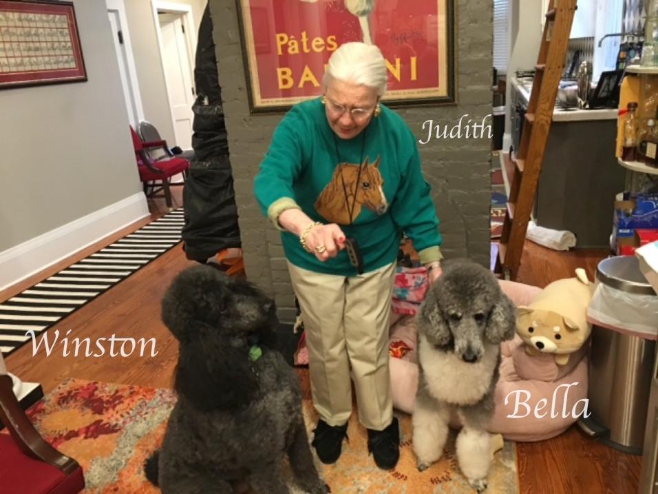 wiston ,judith, and bella